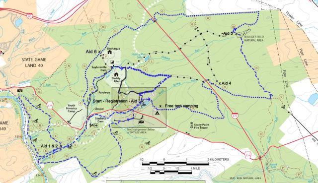 BK100K Race Map