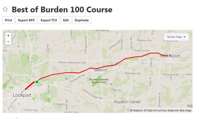 Beast of Burden 100 Course
